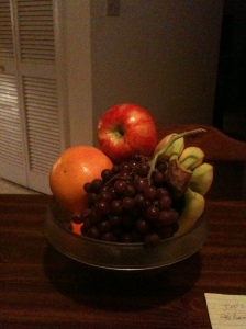 Uncle Jeffy's afternoon - his Fruit Basket