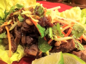 Five Spice Beef Lettuce Wraps: Robin Shea